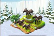 Ice Age Zebras