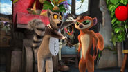 King Julien cancels Clover's show