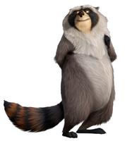 The Nut Job Raccoon