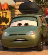 Van in Cars 2