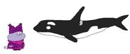 Chowder meets Killer Whale