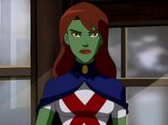 Miss Martian first human form