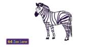 Zed the Plains Zebra