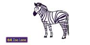 Zed the Plains Zebra