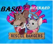 Basil n Bernard rescue rangers