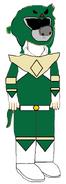 Bodi as Tommy Oliver (Green Ranger)