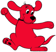 Clifford the Big Red Dog dancing