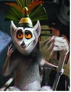 King Julien as Dweeb