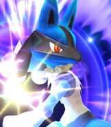 Lucario in Super Smash Bros. for Wii-U and 3DS