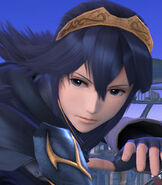 Lucina in Super Smash Bros. for Wii-U and 3DS