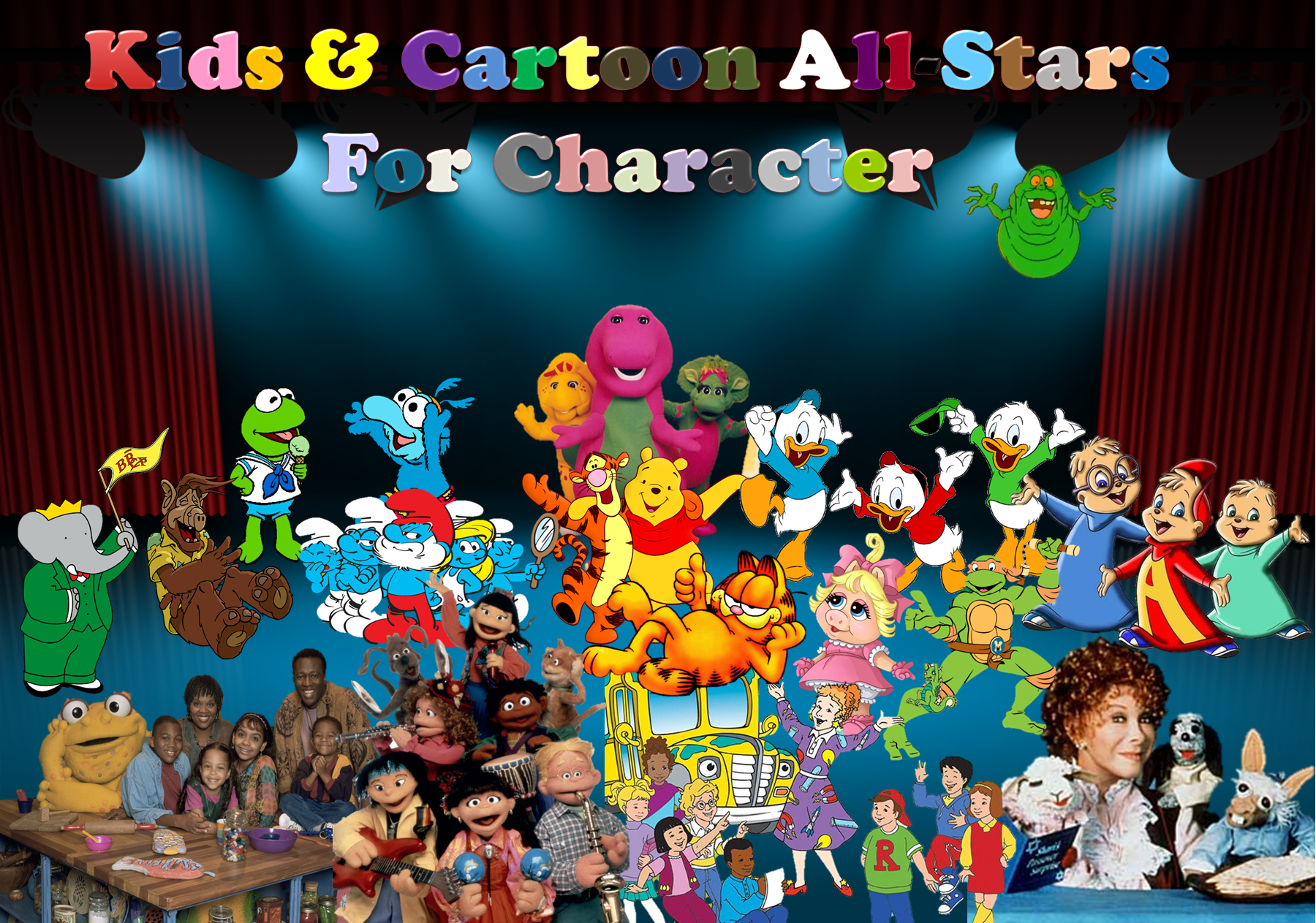 Kids & Cartoon All-Stars For Character Double Feature | The