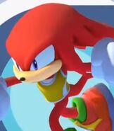 Knuckles the Echidna in Mario and Sonic at the Olympic Games Tokyo 2020