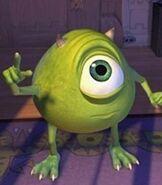 Mike Wazowski in Monsters, Inc.