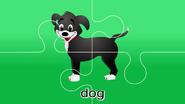 Nursery Tracks Dog