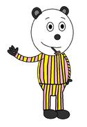 Panda 'Pandy' Smoochie (pipe) (pajamas)