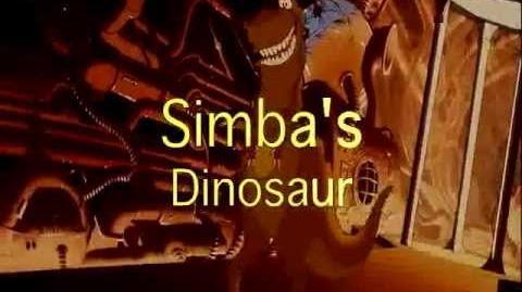 Simba's Dinosaur trailer
