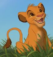 Simba (Young) in The Lion King (1994)