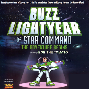 Buzz Lightyear of Star Command DVD cover