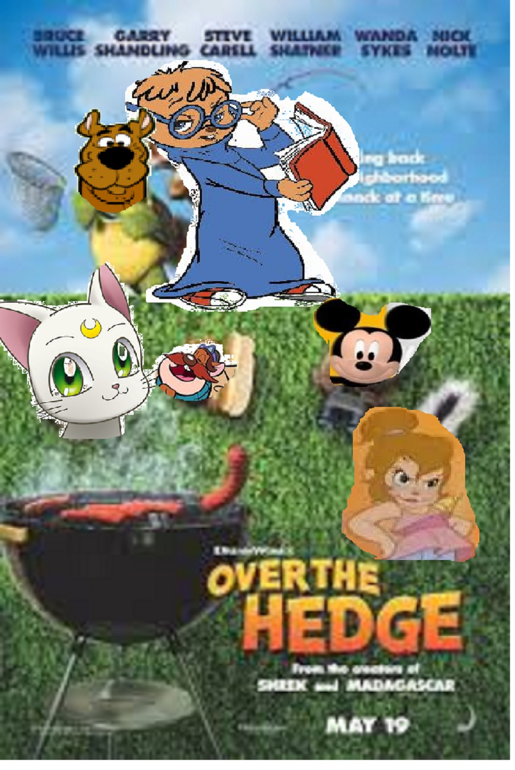 Over the Hedge (Chris1703 Style) | The Parody Wiki