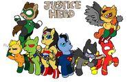 Ponified Justice League