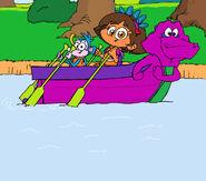 Row, Row Your Dino Boat