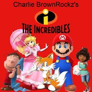 The Incredibles (2004 (Charlie BrownRockz Style); Movie Poster)