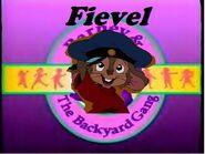 Fievel The Backyard Gang Logo