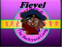Fievel and the Backyard Gang | The Parody Wiki | FANDOM ...