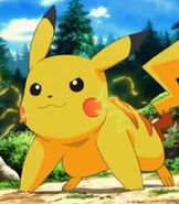 Pikachu in Pokemon the Movie Diancie and the Cocoon of Destruction