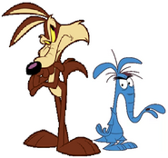 Wile E. Coyote And The Aardvark Are Best Friends (I Hope So...)