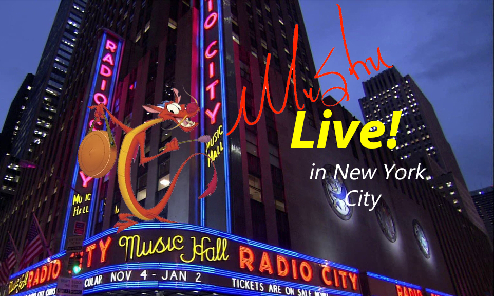 Mushu Live! in New York City   The Parody Wiki   FANDOM ...