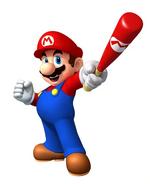 Mario as a Baseball Player