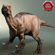 Model Iguanodon