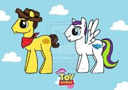 Ponified Woody and Buzz Lightyear