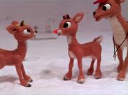 Rudolph light his nose at fireball