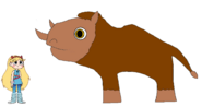 Star meets Woolly Rhinoceros