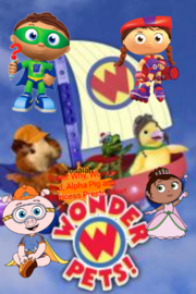 Super Why, Wonder Red, Princess Presto, and Alpha Pig's Clues- Meet The Wonder Pets!- Poster