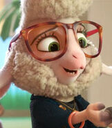 Dawn Bellwether in Zootopia