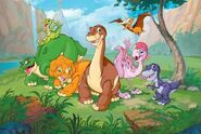 Land Before Time characters