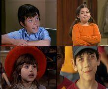 Bobby Brady, Molly, Tina & Ryan