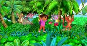 Dora and Friends Swinging