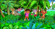 Dora and Friends Swinging