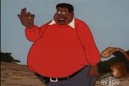 Fat Albert is seen.