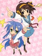 Haruhi and konata