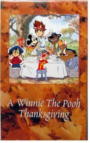 Mickey mouse Thanksgiving VHS