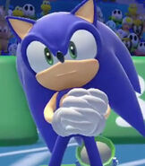 Sonic the Hedgehog in Mario and Sonic at the Rio 2016 Olympic Games