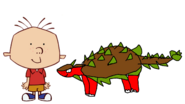 Stanley Griff Meets Ankylosaurus