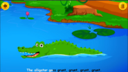 Animal Sounds Song Alligator