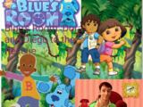 Blue's Room: Dora and Diego to the Rescue
