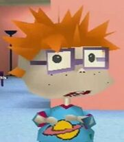 Chuckie Finster in Rugrats Search for Reptar
